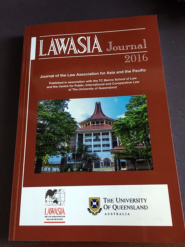 Law Asia Journal 2016