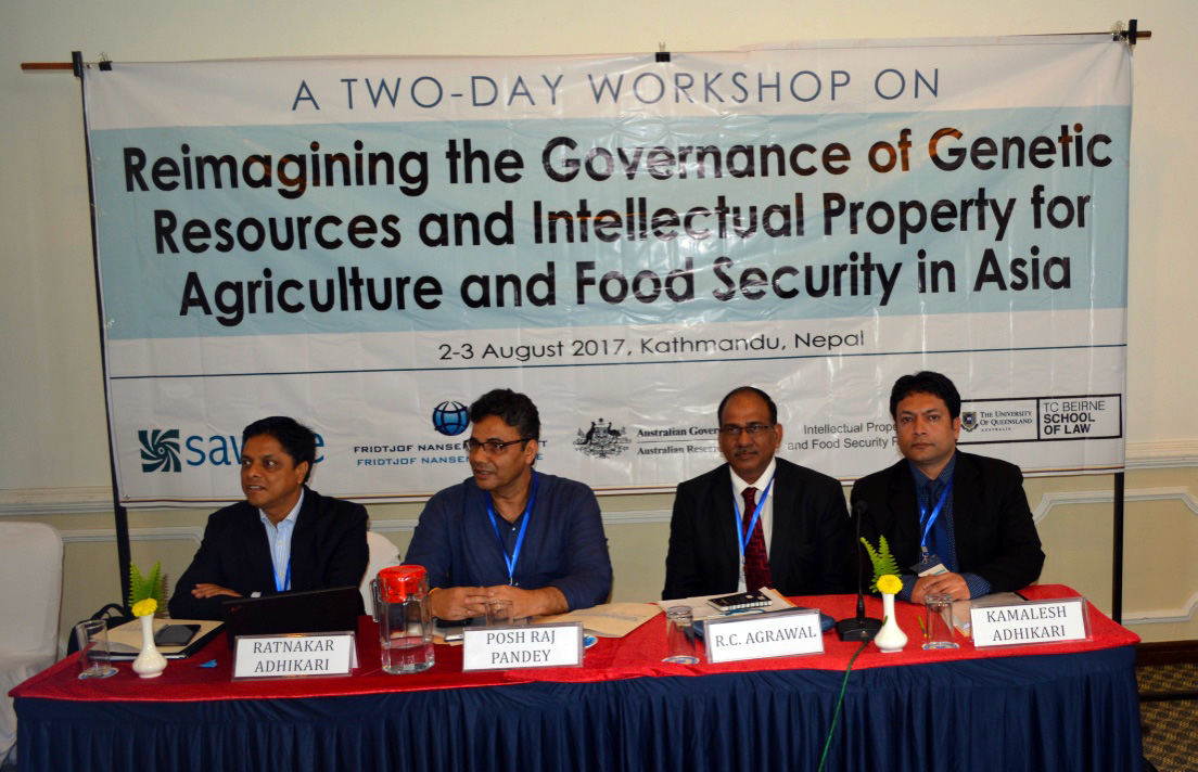 Reimagining the Governance of Genetic Resources and Intellectual Property for Agriculture and Food Security in Asia