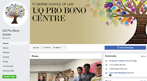 Pro Bono Centre Facebook header