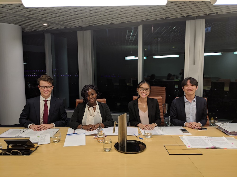 UQ Law 2020 Vis Moot team