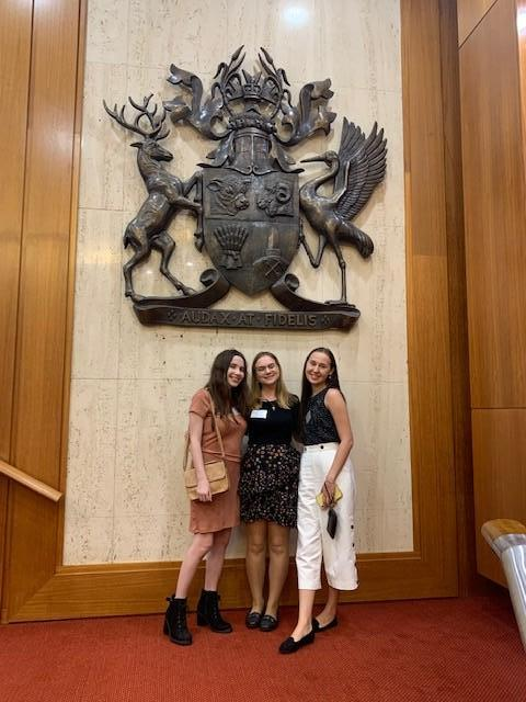 Pro bono students at Qld Parliament