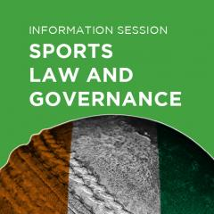 Sports Law and Governance