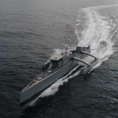 US autonomous naval vessel