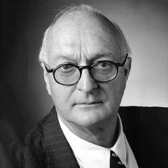 monochrome portrait of lawyer