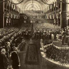 Opening of first Federal Parliament, 1901