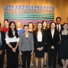 students during their law clerkship.