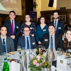 2019 Jessup Team at David F Jackson dinner