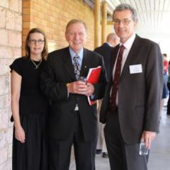 The Hon Michael Kirby AC CMG, Professor Sarah Derrington and Professor James Allan