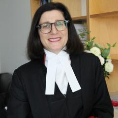 Justice Ryan. Photo supplied, Supreme Court of Queensland