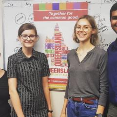 Students at the Queensland Community Alliance