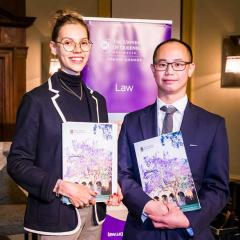 Anna Kretowicz and Dr Anthony Kung