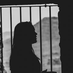 woman in foreign prison