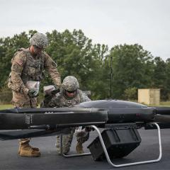 soldier resupply from an unmanned aerial vehicle