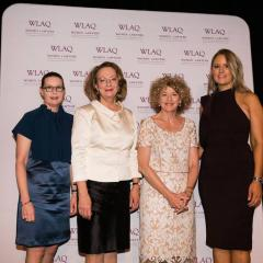 Professor Sarah Derrington, Chief Justice Susan Kiefel AC, Ann-Maree David and Cassandra Heilbronn