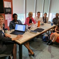 UQ students at the Health Advocacy Legal Clinic