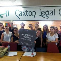 Students at Caxton Legal Centre