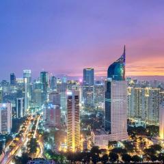 Jakarta by night